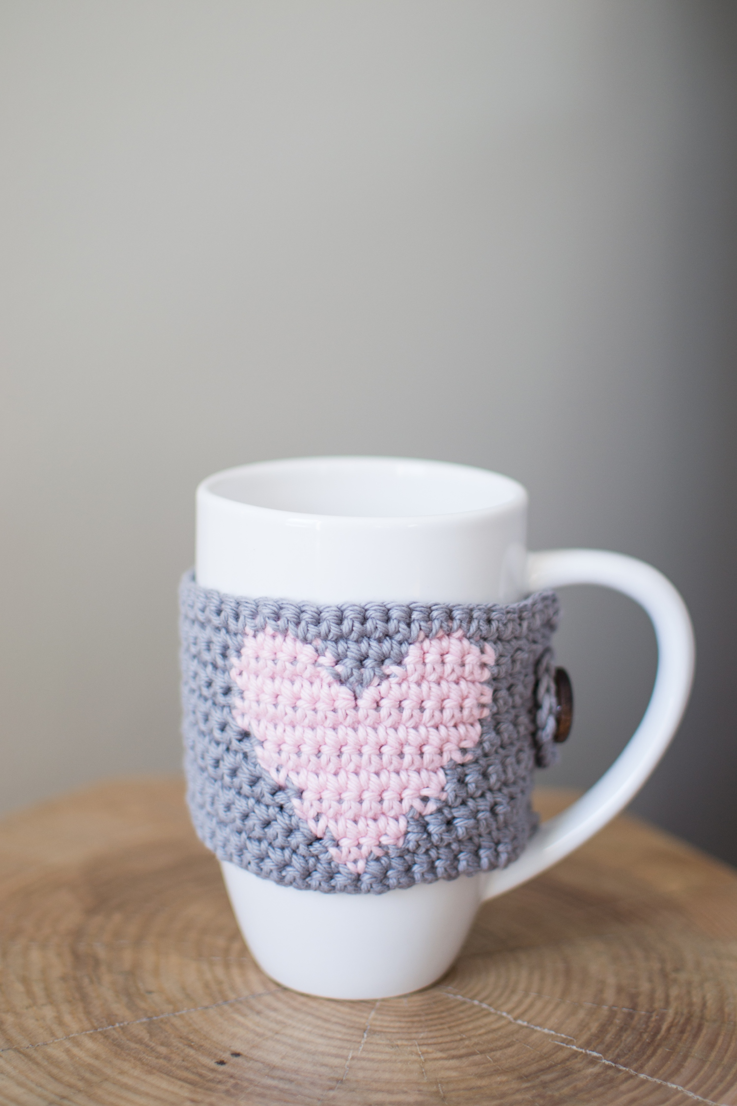 The Simplicitea Heart Mug Cozy Crochet Pattern Woods And Wool