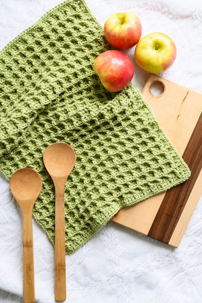 Free Crochet Pattern Dishie Towel Woods And Wool